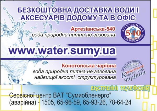 стр. 12 / Бесплатная доставка воды (1) / Экстренные телефоны