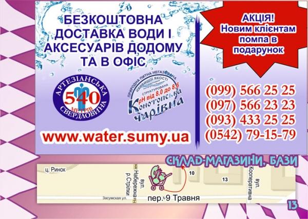 стр. 13 / Бесплатная доставка воды/ Склад-магазины, базы